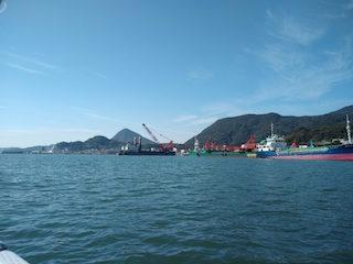 船から見る景色