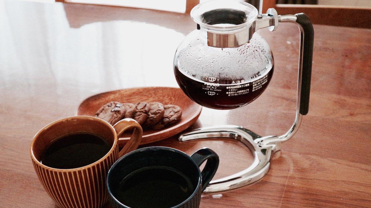 サイフォンでコーヒーを淹れよう