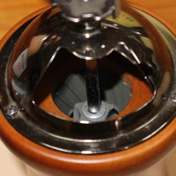 HARIO Coffee Mill DOME コーヒーミルドーム MCD-2 内部